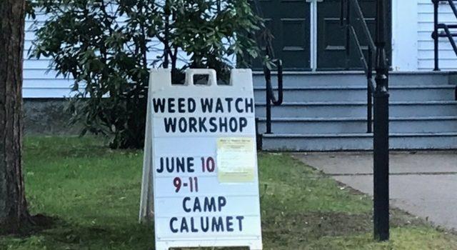 Weed Watcher Information Workshop Reminder